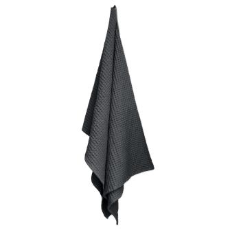 Badehandtuch dark grey 100x150cm