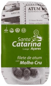 Thunfischfilet in Olivenöl mit würziger Sauce 120g