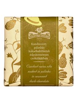 Rózsavölgyi Csokoládê Candied cocoa nibs 73% 70g