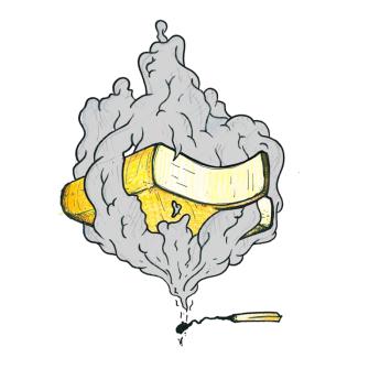 Raclette Käse Rauch Scheibe, 90g