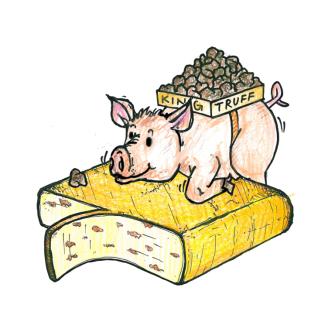Raclette Käse Trüffel Scheibe, 90g